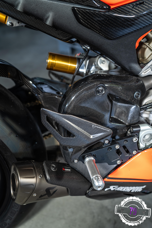 Ducati Panigale V4 Hitzeschutz