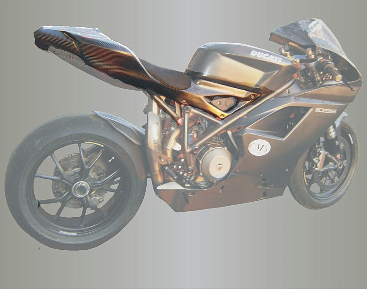 Ducati 1098 Selbsttragendes Heck