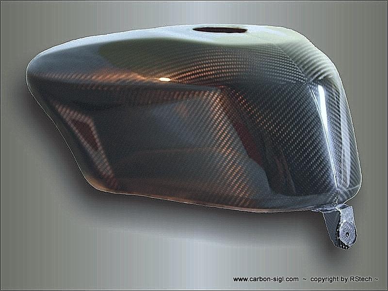 Ducati  848, 1098 und 1198 S/R Tankabdeckung