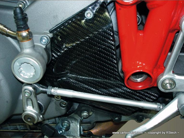 Ducati 1098 Ritzelabdeckung