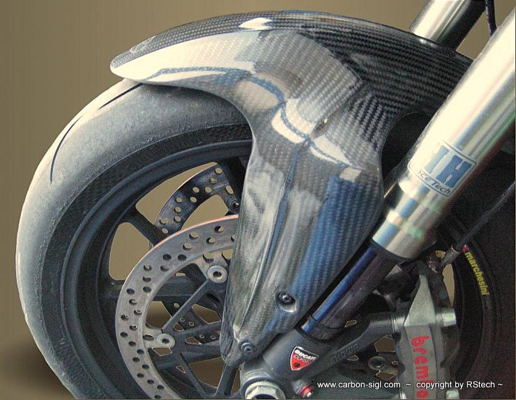 Ducati 848-1098 Kotflügel vorne