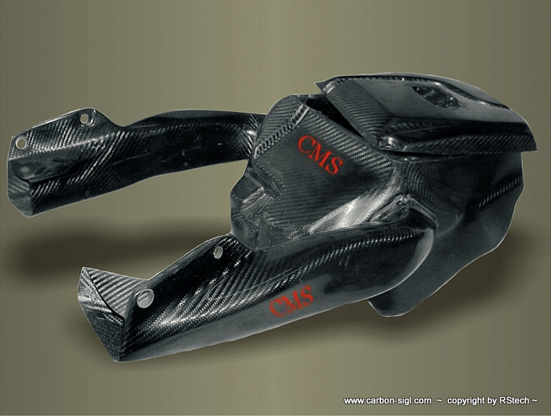 Ducati 1098 Airbox Kit