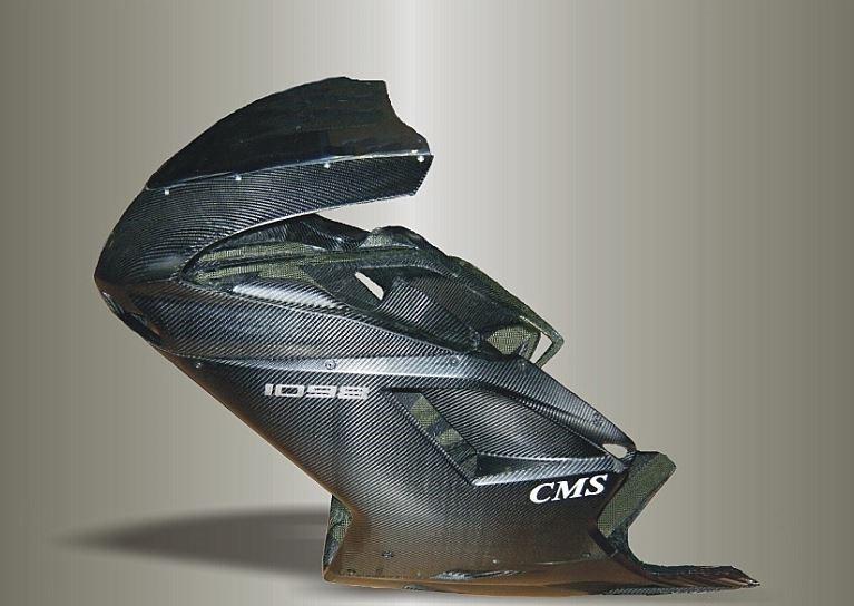Ducati 1098 Verkleidungssatz CFK